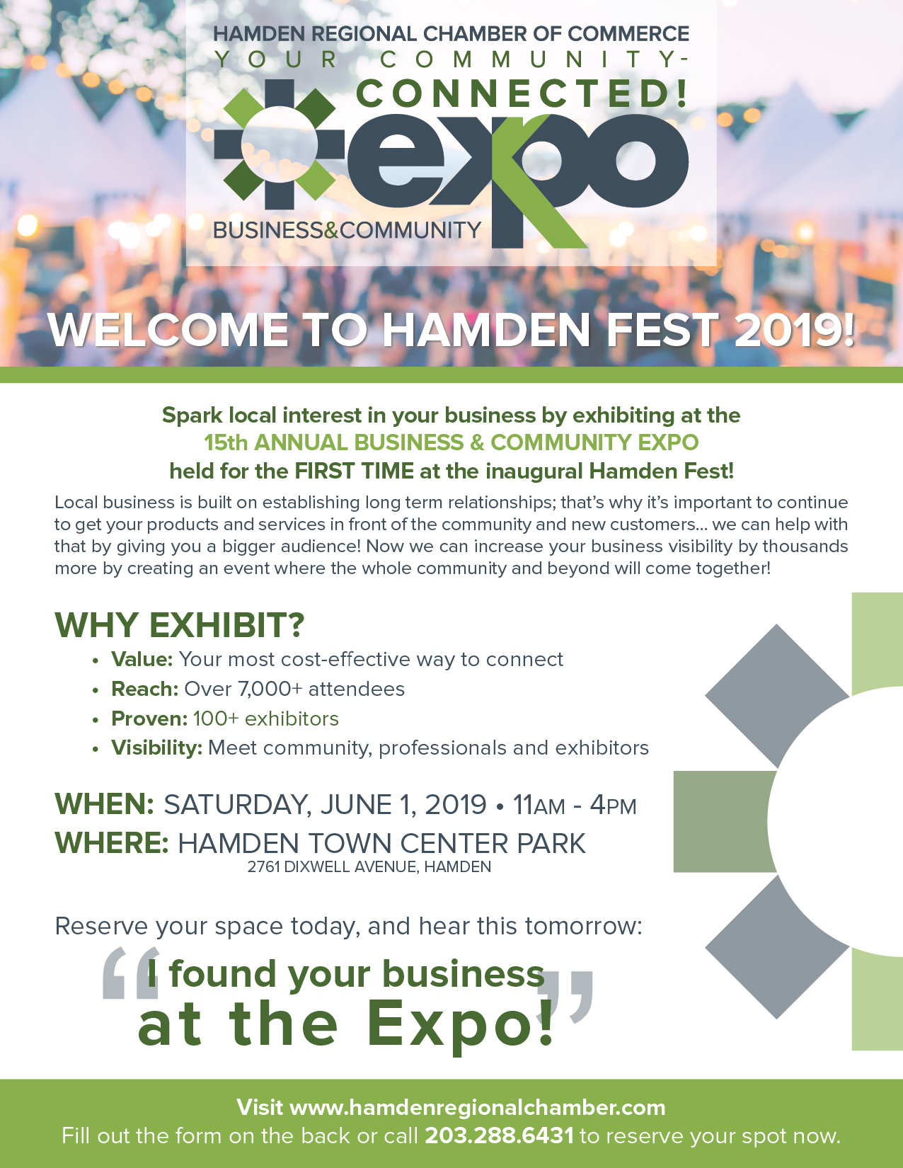 Hamden Regional Chamber Business Expo